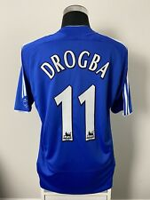 DROGBA #11 Chelsea Home Football Shirt Jersey 2006/07 (L)