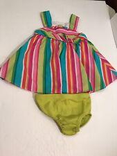 Bonnie Baby Dress Sz 3-6 Months / Bloomers 6 Months