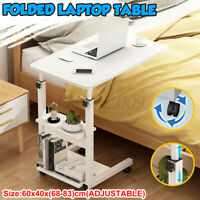 Computer Mobile Table Stand Office Sofa Laptop Snack Coffee Over Bed Lazy Desk