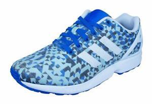 Baskets bleus adidas pour homme ZX flux | eBay