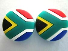 2 South Africa Flags Afrikaans Tennis Vibration Shock Absorber Dampeners Kevin