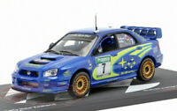 SUBARU IMPREZA WRC 1:43 Scale Solberg New Zealand Rally Toy Car Model Miniature