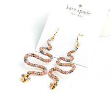 Kate Spade Spice Things Up Snake Drop Earrings New