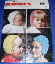 Robin DK Loopy Hats Knitting Pattern 1594