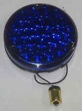 PETERBILT 24 BLUE LED 4 INCH ROUND SEALED BACK OF SLEEPER WORK LIGHT  GGA 76155