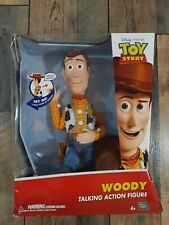 """Disney Toy Story WOODY 16"""" Pull String Talking Sheriff Cowboy Action Figure Doll"""
