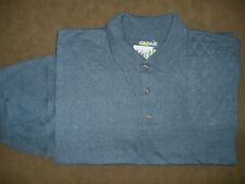 Xl Lh Trap/Skeet Pad Dark Heather 50/50 Dryblend Polo Shooting Shirt/Gildan