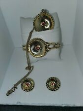 Ruby pie dish jewelry set baker friendly  great gift set