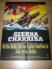 Sierra charriba-kinoplakat a1'65-Sam Peckinpah Senta Berger James Coburn