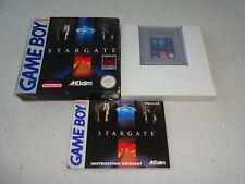 Stargate Game Boy Spiel komplett mit OVP und Anleitung
