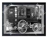 Historic Heinz wagon 1900s Advertising Postcard