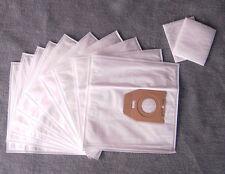 10 Staubsaugerbeutel für Menalux 3200, Staubbeutel Filtertüten + 2 Filter