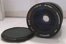 Film Camera Lens Seikanon MC Auto Zoom Macro 1:3.5-4.5 f=28-75mm - TESTED