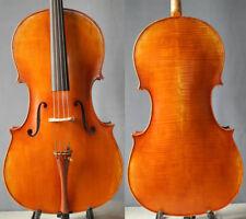 Master handmade stradivari cello 4/4 europeanwood, antique finish excellent tone