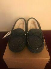 Women's Lamo Mocassin Slippers, Black, 7.5, Brand New