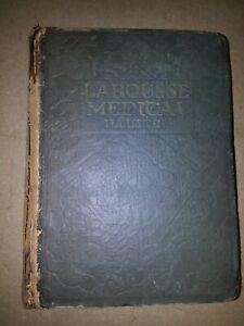 Larousse médical illustré 1924 planches en couleurs.