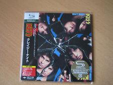 "KISS ""Crazy Nights"" Japan mini LP SHM CD"
