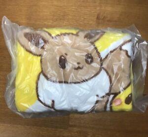 Pokemon × Misdo Blanket Yellow color Pikachu Eevee JAPAN Limited NEW