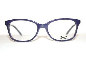 NEW OAKLEY OX1131 STANDPOINT 04 BANDED PURPLE AUTHENTIC EYEGLASSES 52-16-136 MM