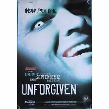 Official Rare WWE Raw Unforgiven 2004 PPV Promo POSTER featuring Kane