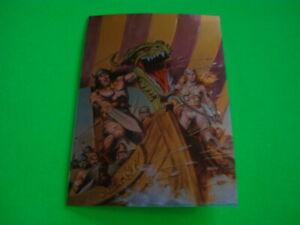 CONAN II ALL CHROMIUM PROMO CARD NO#
