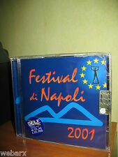 FESTIVAL DI NAPOLI 2001 CD NUOVO SIGILLATO GLORIANA EDDY NAPOLI MONTECORVINO