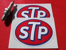 Pair of  STP stickers