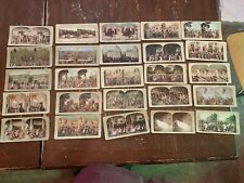 Antique Lot of 25 Christ's Crucifixion and Other Jesus Color Stereoview Cards