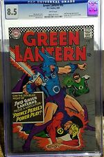 Green Lantern #45 Silver Age CGC 8.5 White Pages!