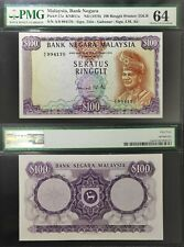 Malaysia 1972, 2nd Series Rm100 P.17A Pmg 64