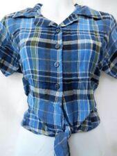 Unbranded Gingham Regular Size Tops & Shirts for Women