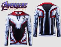 Marvel Avengers 4 Endgame Quantum War Men 3D Printed T shirts Compression Shirt