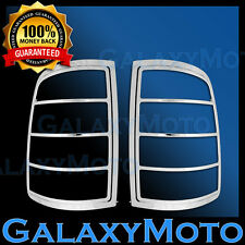 09-17 Dodge Ram 1500 Truck Chrome Taillight Tail Light Trim Bezel Lamp Cover