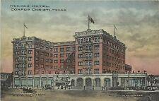 1908 Hand-Colored Postcard; Nueces Hotel, Corpus Christi Tx Nueces Co. Unposted