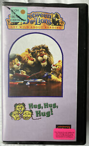 PBS Kids Between The Lions Hug, Hug, Hug VHS Short U Sound Reading