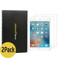 "{2-Pack} SOINEED® Apple iPad 6 6th Gen 9.7"" 2018 Tempered Glass Screen Protector"