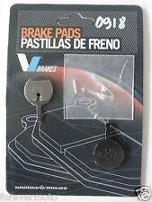 PASTIGLIE FRENO KEVLAR BICI /MTB /BICICLETTA PER AVID BALL BEARING 5 (COD:0918)
