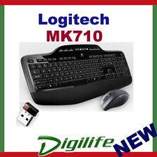 Logitech Wireless Desktop MK710 Keyboard & Mouse Unifying receiver