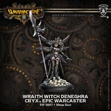 Warmachine BNIB-cryx Epic Wraith Bruja deneghra