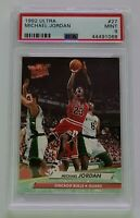 HOF Michael Jordan 1992-93 Fleer Ultra #27 PSA 9 MINT Chicago Bulls