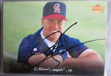 J.T. Snow Upper Deck 1995 # 272 Signed Baseball Card