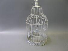 Nostalgie Métal Cage à Oiseaux Décoration 50 CM Shabby