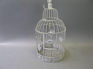Nostalgia Metallo Gabbia per Uccelli Deco Decorazione 50 CM Shabby