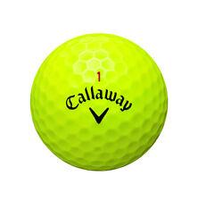25 Mixed CALLAWAY YELLOW Lake Golf Balls - PEARL / AAA Grade - Ace Golf Balls