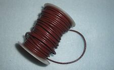 """2mm brown leather 18"""" lanyard cord for driving sun reading glasses"""