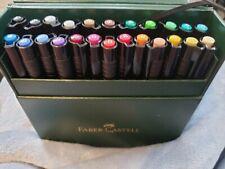 Faber-Castell Pitt Artist Pen Set Brush Gift Box 24 Colours