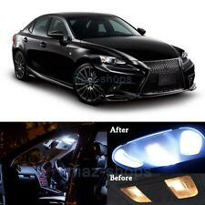 17x White LED Lights Interior Package for 2014-2017 Lexus IS250 IS350 IS F MP