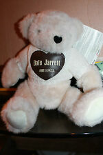 Nascar Dale Jarrett Action Sports Image Fuzzie white Fully Jointed Teddy Bear