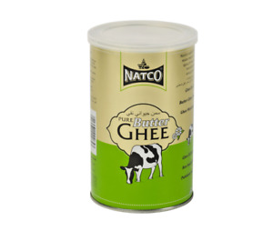 NATCO Butter Ghee-500g/1kg/2kg/4kg- Indian Asian Cooking  Food 100% Pure UK