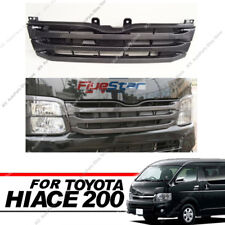 Narrow-Body Carbon Fiber Front Grille For Toyota Hiace 200 Series 3 Type 2010-13